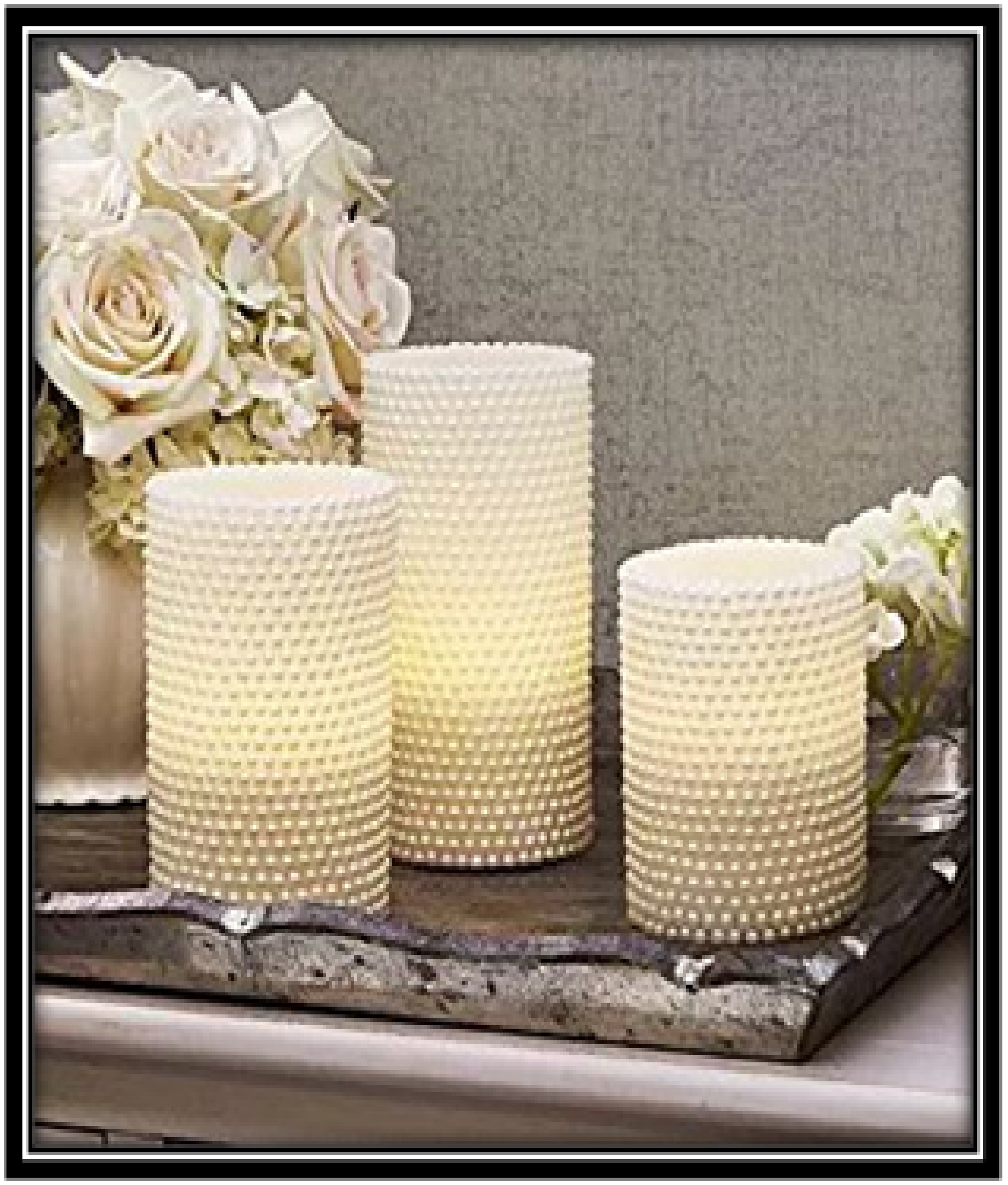 LED Candle for guest room - home decor ideas