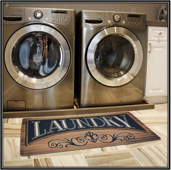 Laundry Room Mat Home Decor Ideas