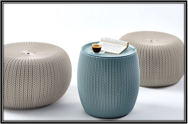 Seating Poufs Outdoor Living Space Ideas Home Decor Ideas