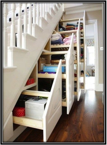 Storage Under Staircases Home Decor Ideas