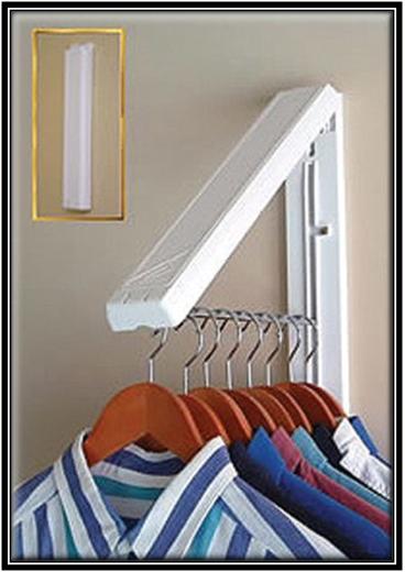 Wall Clothes Hanger Home Decor Ideas