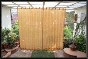 Window and Door Curtains Balcony Decoration Home Decor Ideas