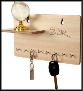 Wooden Key Holder Home Decor Ideas