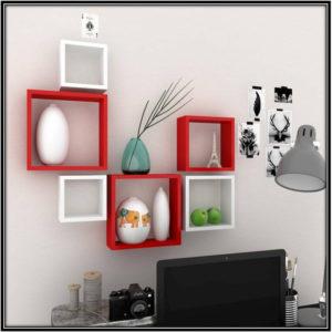 Wooden Wall Shelf Home Decor Ideas