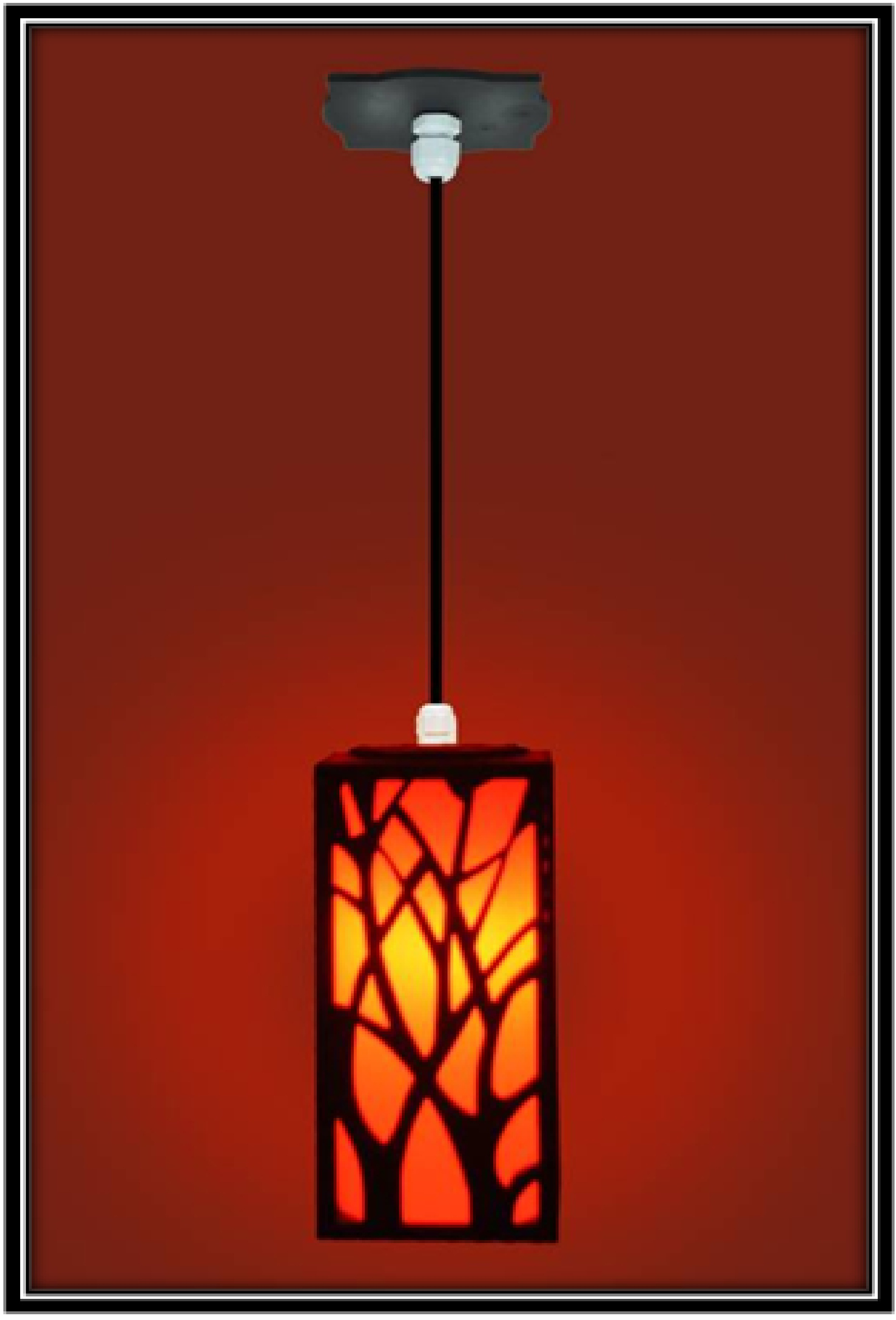 hang the lamp for guest room - home decor ideas