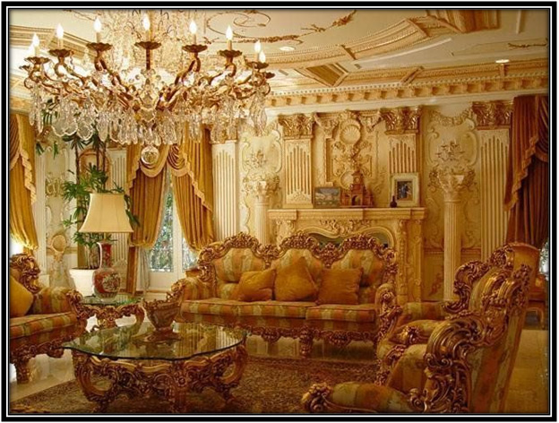 A Luxurious Drawing Room Home Decor Ideas