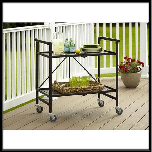 A Serving Cart Home Decor Ideas