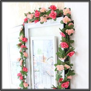 Artificial Flower Craft Art Home Decor Ideas