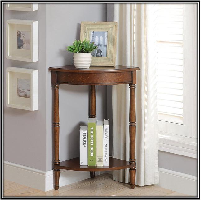Corner Table Home Decor Ideas
