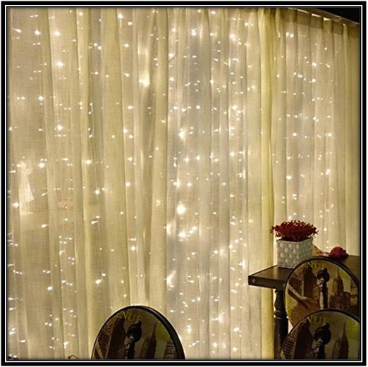 Curtain String Lights Home Decor Ideas