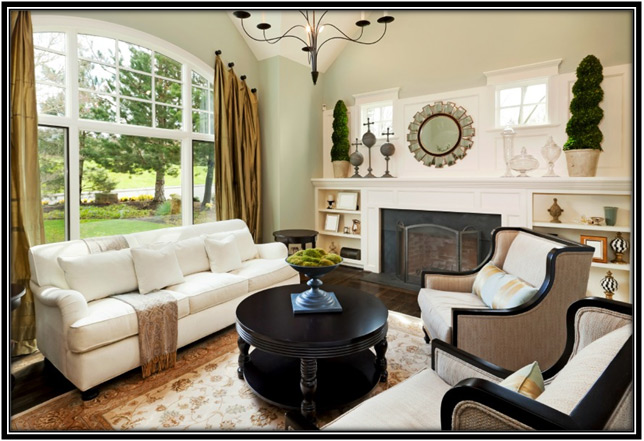 Welcome your visitors in a well maintained living room for Welcome home decorations ideas