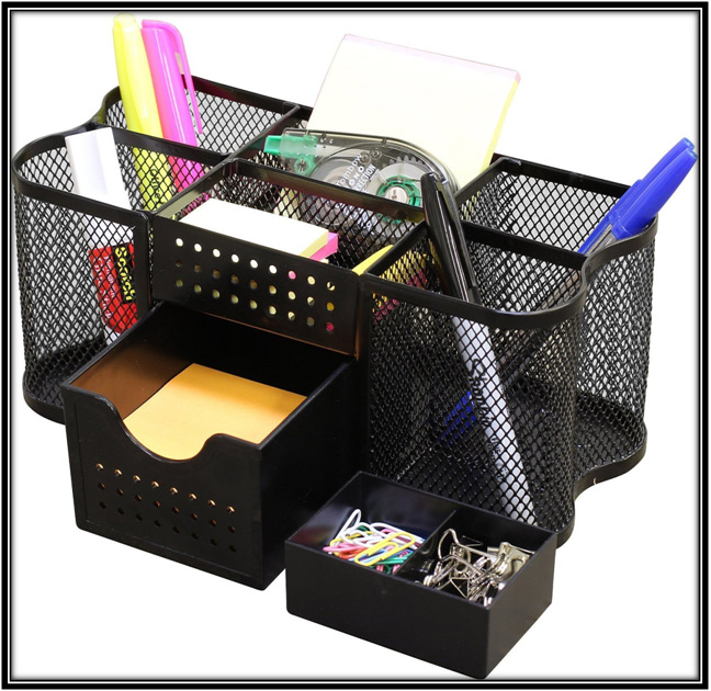 Desk Organiser Home Office Decor Ideas