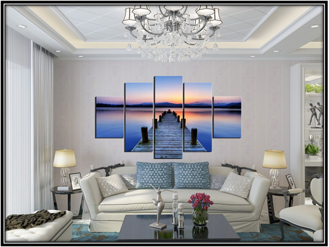 Oil Paintings Living Room Design Home Decor Ideas