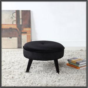 Round Ottoman Footstool Home Decor Ideas