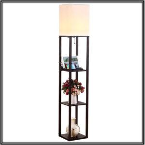 Shelf Floor Lamp Lighting Decor Ideas Home Decor Ideas
