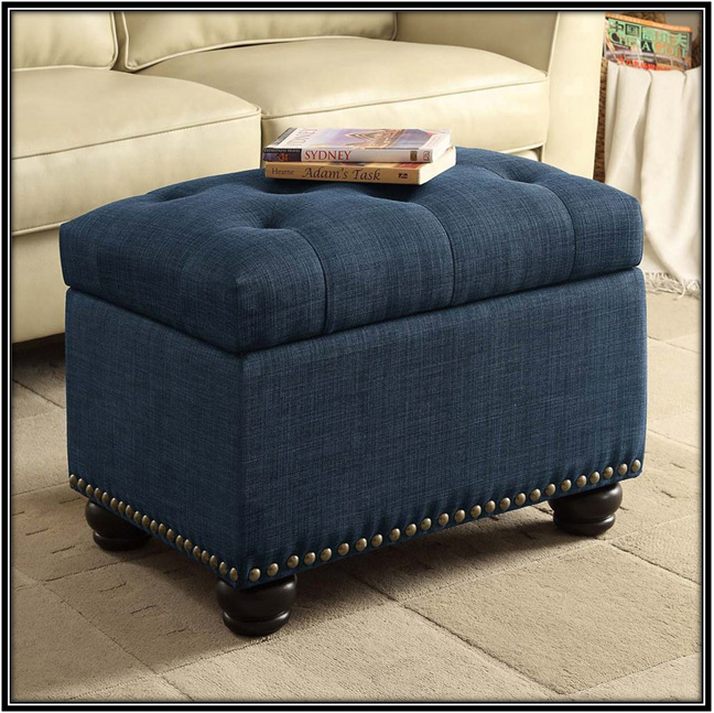 Storage Ottomans Home Decor Ideas