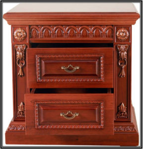 Wooden Night Stand Home Decor Ideas