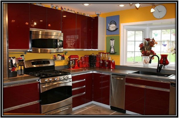 A Colourful Kitchen Home Decor Ideas
