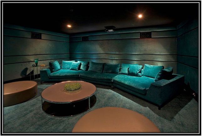 A Home Theatre Home Decor Ideas