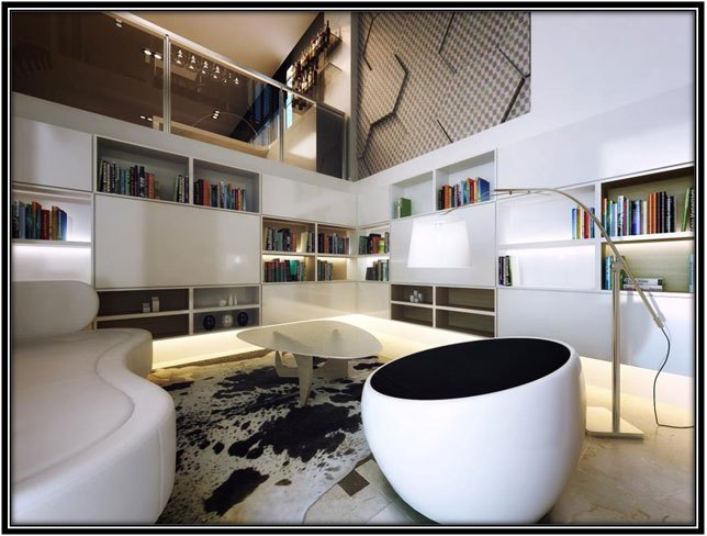 A Library - Home Decor Ideas
