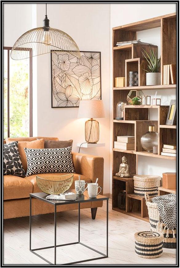 A Living Cum Study Area Home Decor Ideas