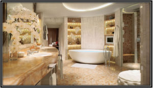 A Luxurious Bathroom Luxury Hotel Room Decoration Ideas Home Decor Ideas
