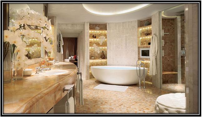 A Luxurious Bathroom Luxury Hotel Room Decoration Ideas Home Decor Ideas