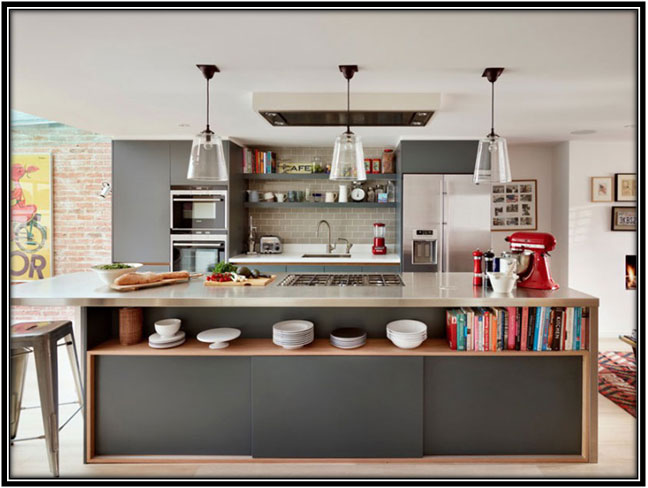 A Modern Kitchen Home Decor Ideas