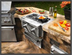 A Modern Kitchen Outdoor Kitchen Home Decor Ideas