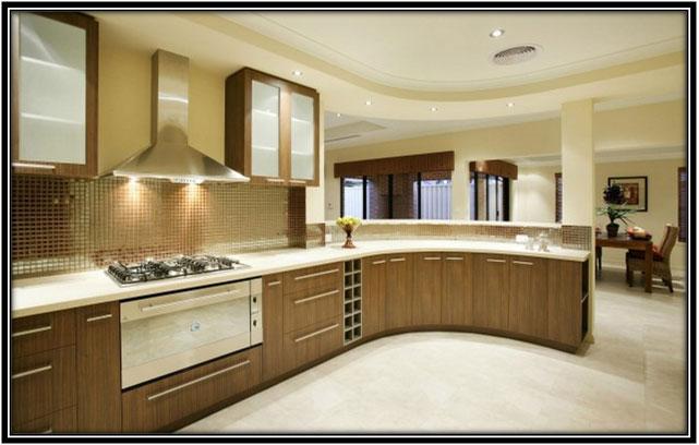 An Elegant Kitchen Area Katrina Kaif House Interior Home Decor Ideas