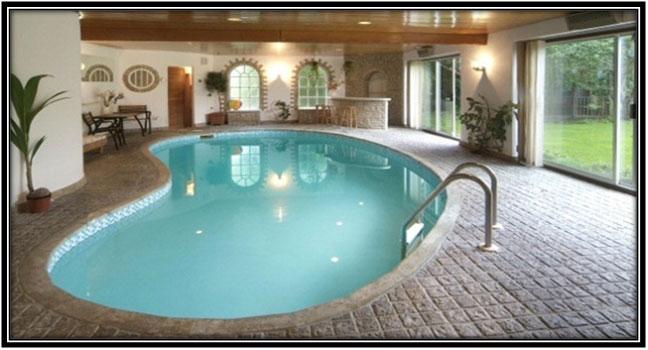 An Indoor Pool Home Decor Ideas