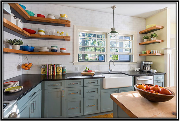 Corner Shelf For The Kitchen Home Decor Ideas