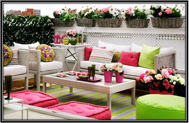 For A Colourful Terrace Home Decor Ideas