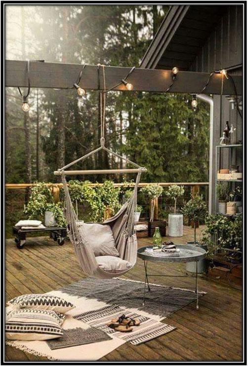 For A Cosy Outdoor Corner Outdoor Decoration Home Decor Ideas Home Grown Decoration