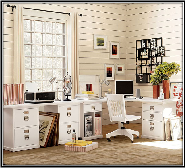 If You Have Enough Space Home Office Decoration Ideas