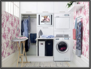 The Onewith The Wallpapers Laundry Room Decoration Ideas Home Decor Ideas
