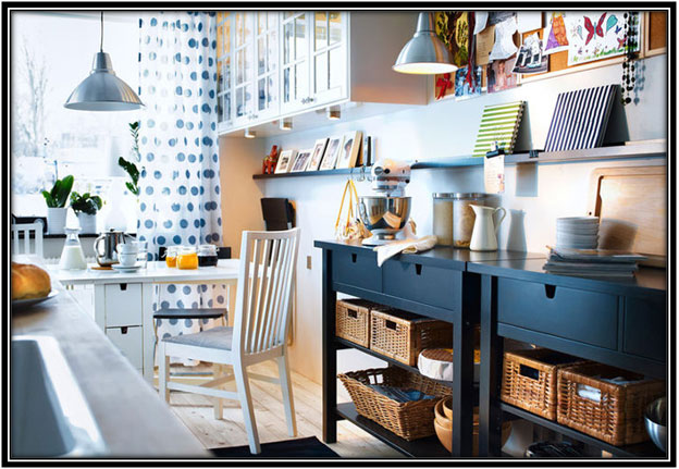 50 Shades Of Blue Kitchen Decor Ideas