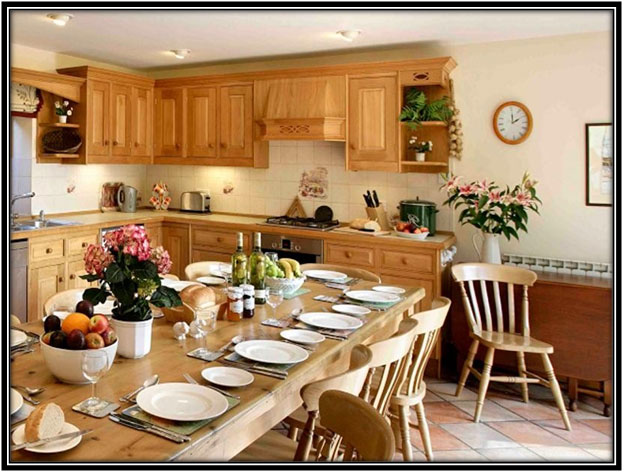An All Wooden Kitchen Kitchen Decor Ideas