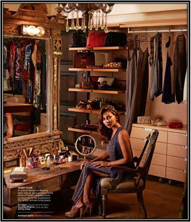 An Elegant Dressing Room Celebrity House Interior Home Decor Ideas