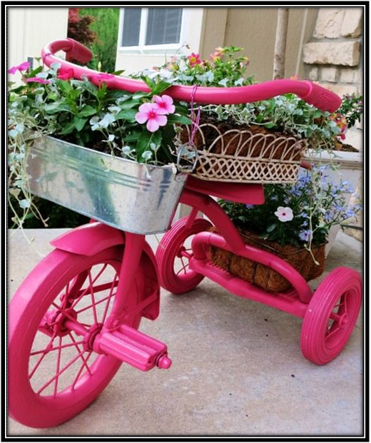 Creative Items Like This Bicycle Garden Decoration Ideas Home Decor Ideas