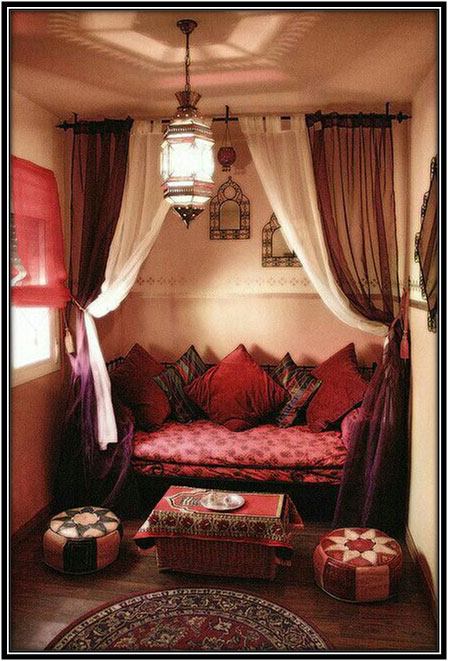 For A Boho Style Romantic Corner Corner Space Home Decor Ideas