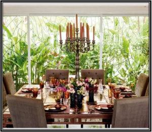 For A Colourful Dining Area Celebrity House Interior Home Decor Ideas Ideas