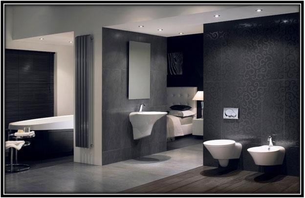 For A Monochrome Bathroom Luxury Bathroom Decoration Home Decor Ideas