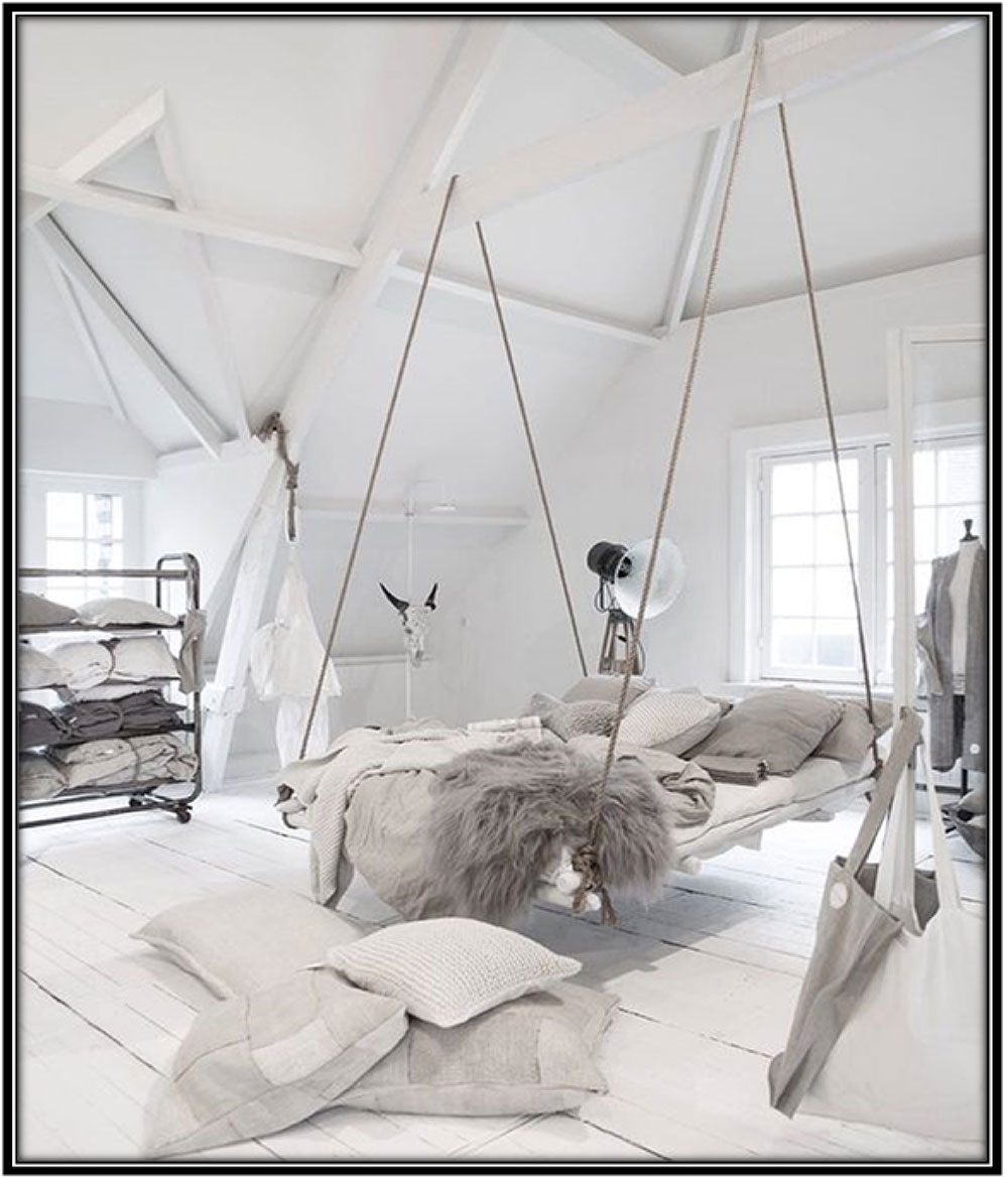Hanging-bed-decoration-Home-decor-ideas