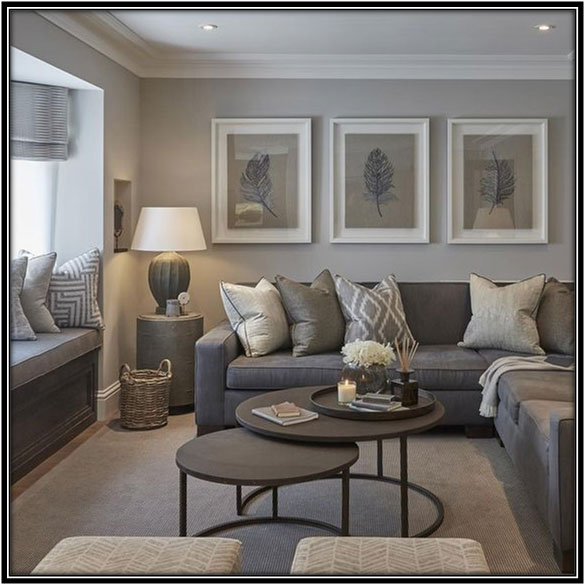 Some Shades Of Grey Living Room Decoration Home Decor Ideas