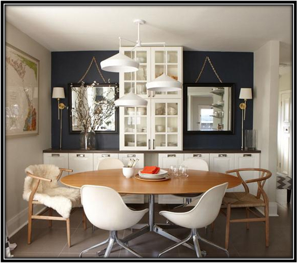 Uniqueness Dining Room Home Decor Ideas