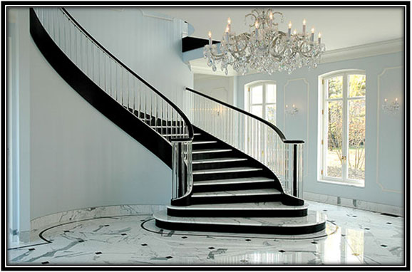 All Time Favorite Black & White Stairs Home Decor Ideas