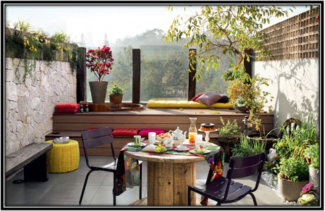 Big Terrace Ideas Terrace Decoration Ideas
