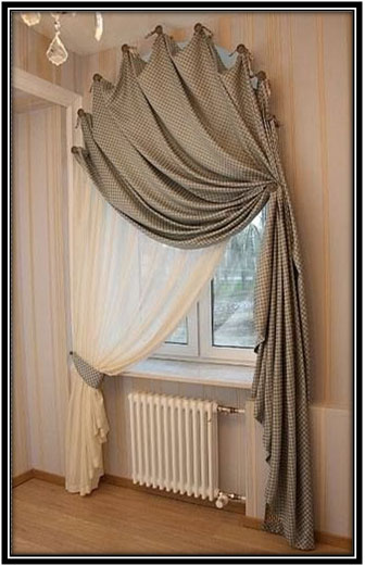 Draping The Curtains Smartly Curtain Decor Ideas