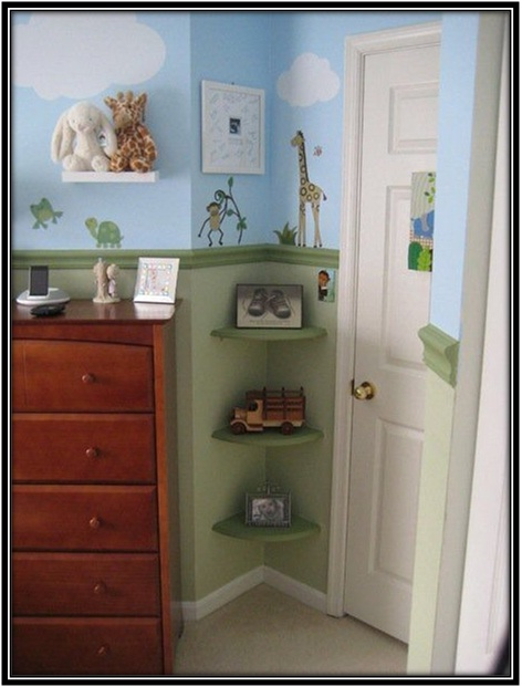 Empty Spaces In Kids Rooms - Home decor ideas